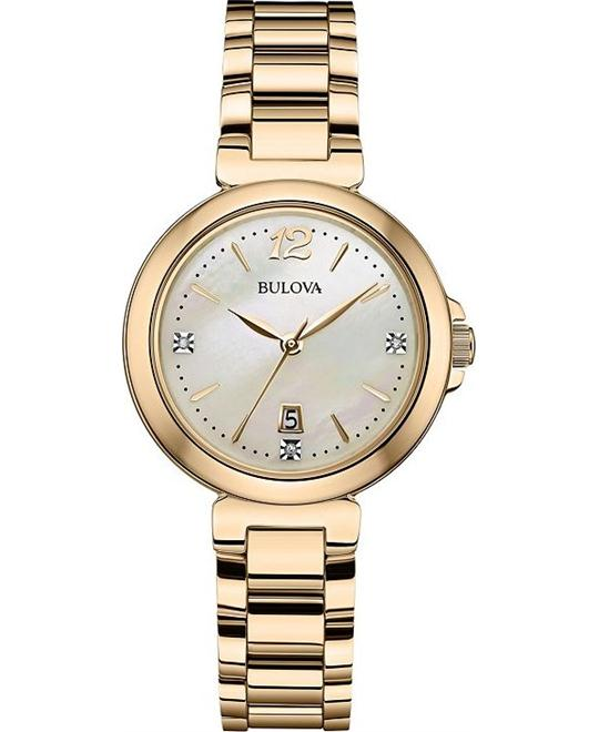 Bulova Diamonds Women's Quartz Watch 30mm