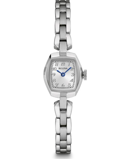 Bulova Dress Women's Quartz Stainless Watch 18x21mm