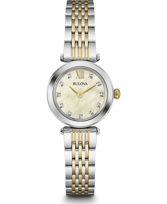 Bulova Dress Women's Quartz Stainless Watch 24.5mm