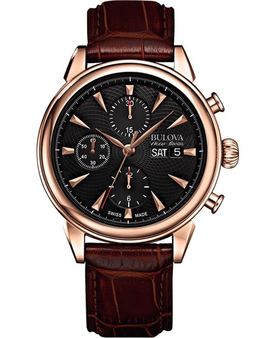 Bulova Accu Swiss Gemini Automatic Watch 42mm