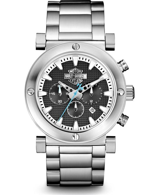 Bulova Harley-Davidson Chronograph Watch 44mm