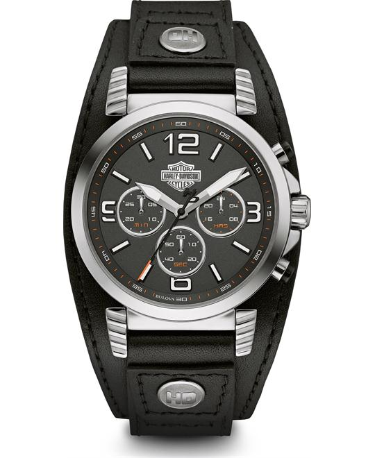 Bulova Harley-Davidson Men's Chronograph Watch 40mm