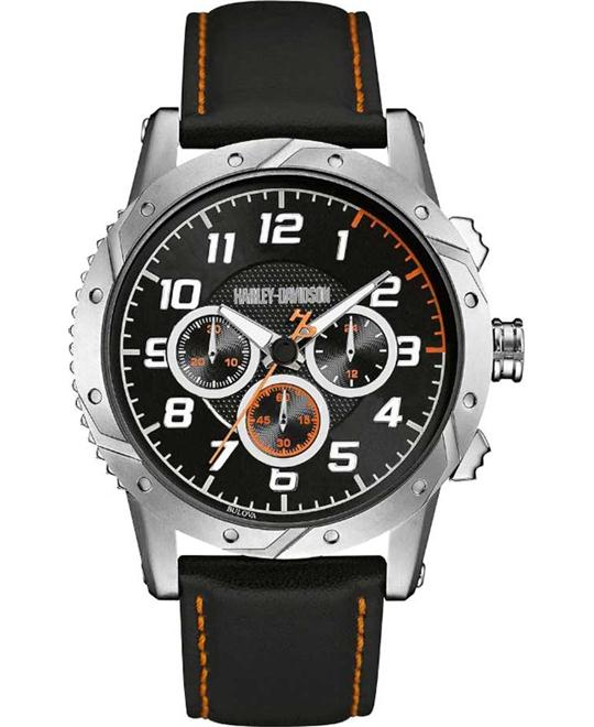Bulova Harley-Davidson Men's Chronograph Watch 44mm