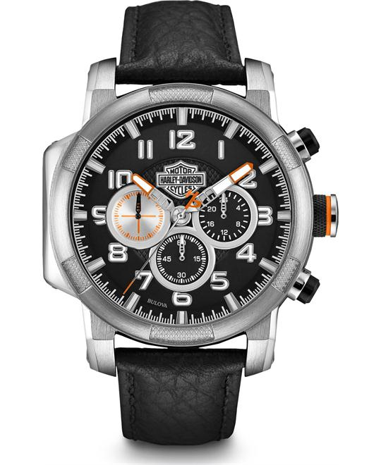 Bulova Harley-Davidson Men's Chronograph Watch 46mm