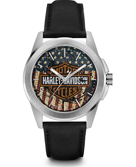 Bulova Harley-Davidson Men's Watch 42mm
