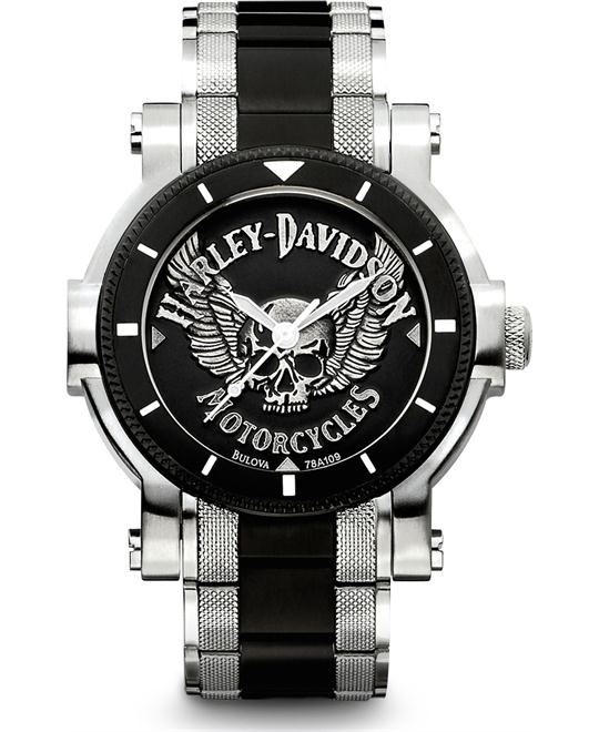 Bulova Harley-Davidson Men's Watch 44mm