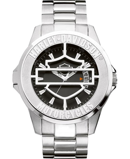 Bulova Harley-Davidson Men's Watch 45mm