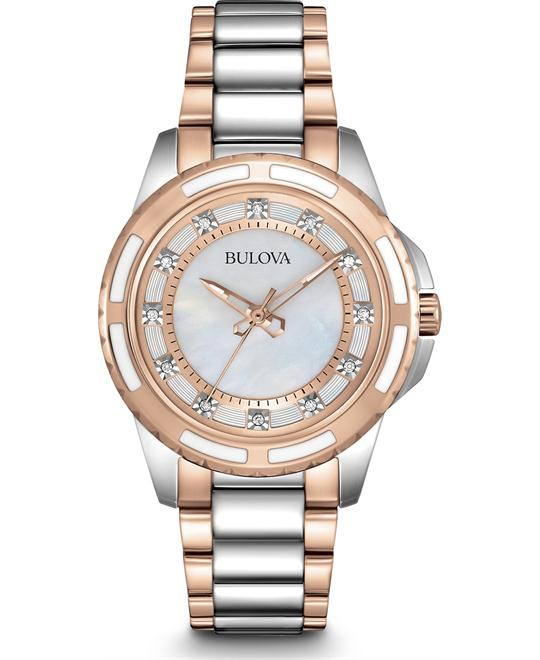 Bulova Lizard Women's Diamond Watch 32mm