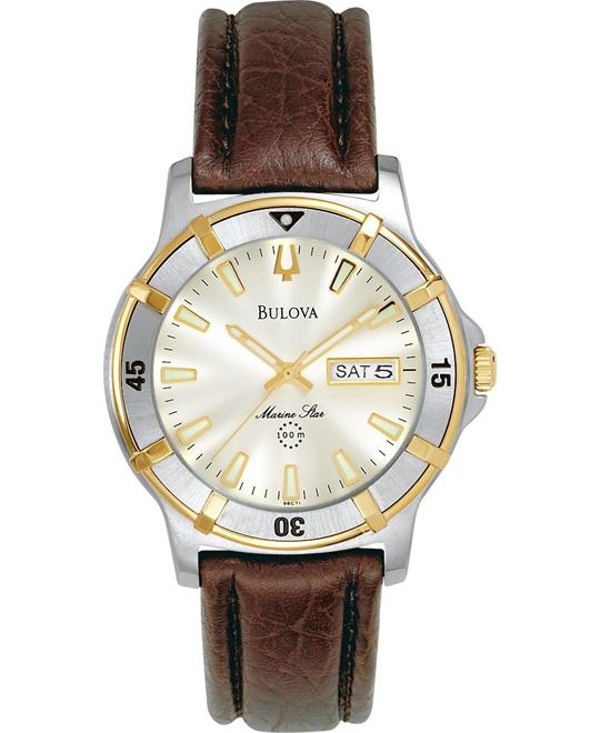 BULOVA Marine Star Beige Men's Watch 40mm