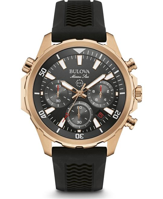 Bulova Marine Star Chronograph Men's Watch 43mm