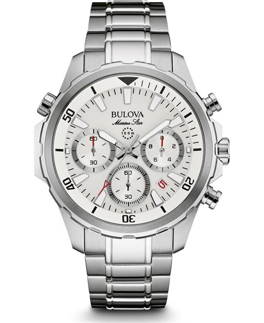 BULOVA Marine Star Chronograph Watch 43mm