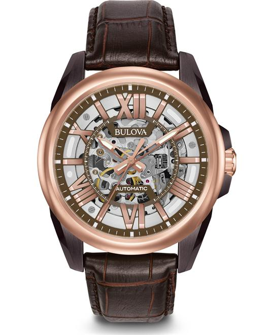 Bulova Mechanical Hand Wind Dress Watch 42mm