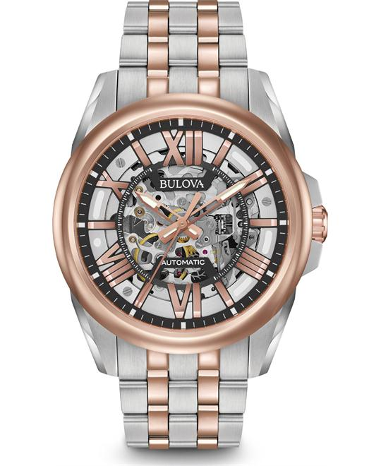 Bulova Mechanical Self Wind Dress Watch 43mm