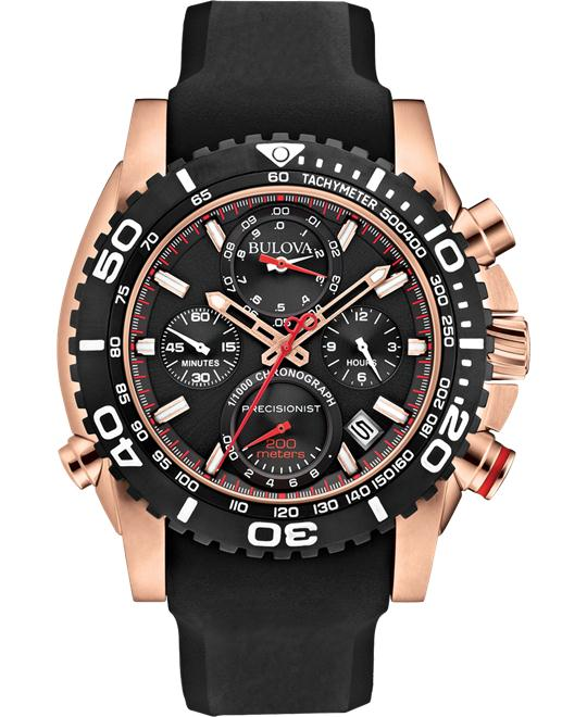 Bulova Precisionist Chronograph Watch 47.5mm