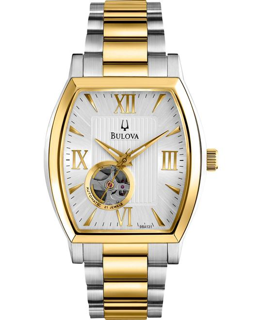 Bulova BVA Series Mechanical Automatic Men's Watch 39mm