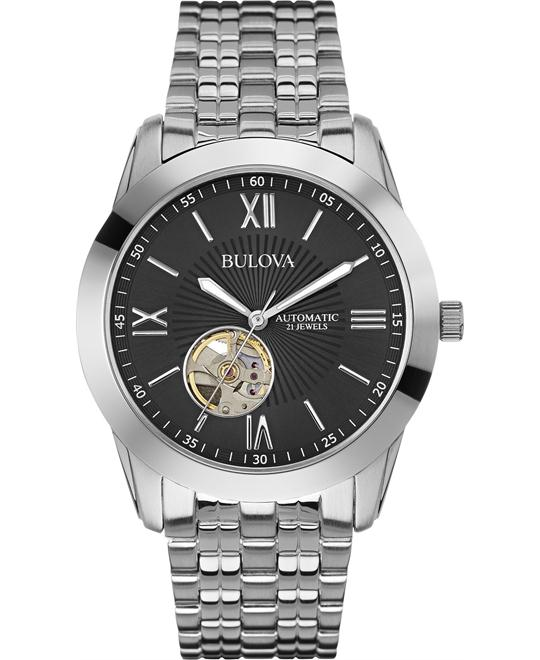 Bulova Automatic Stainless Men's Watch 42mm