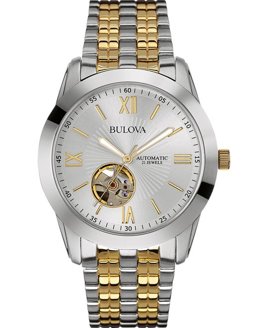 Bulova Men's Automatic Two-Tone Stainless Watch 42mm
