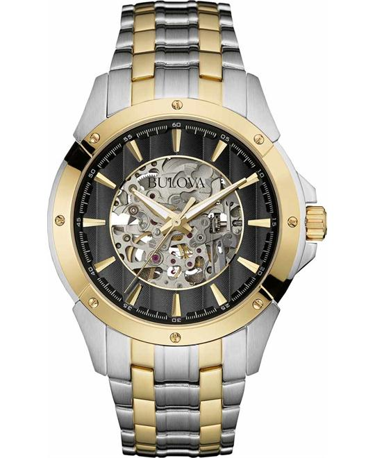Bulova Men's Automatics 21 Jewels Watch 43mm