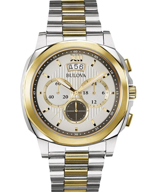Bulova Classic Chronograph Men's Watch 43mm