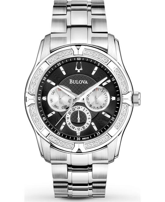 Bulova Men's Diamond Watch 42mm