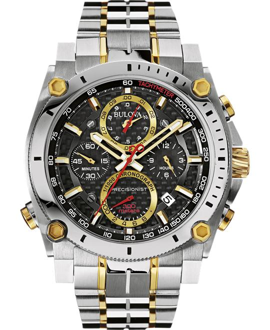 Bulova Precisionist Chronograph Japanese Watch 47mm