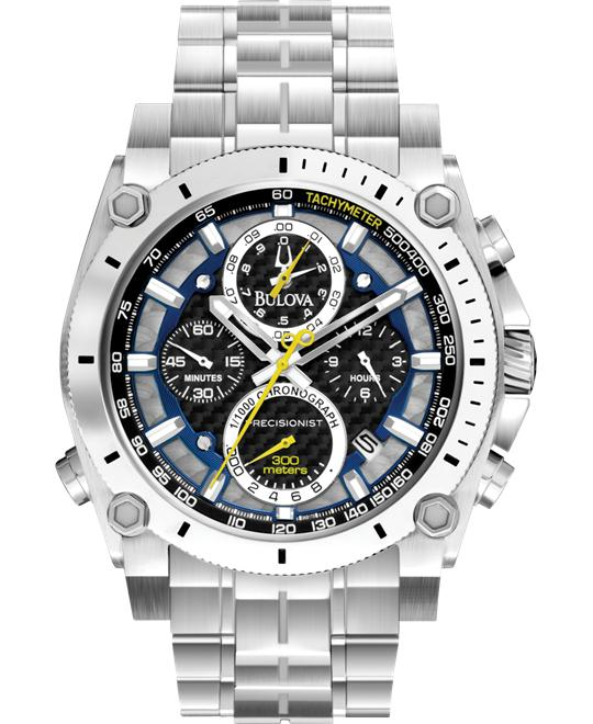"Bulova ""Precisionist"" Chronograph Men's Watch 46mm"
