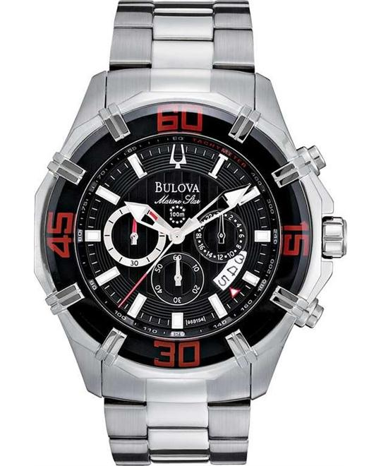 Bulova Men's Solano Marine Chronograph Watch 46mm