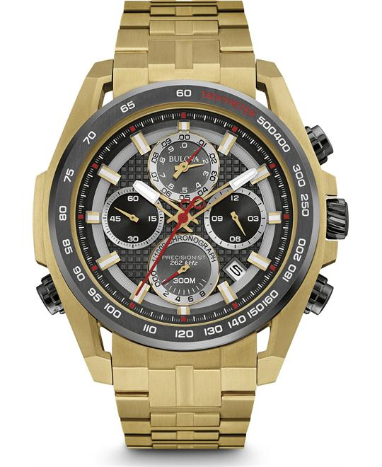 Bulova Precisionist Chronograph Men's Watch 48.3mm