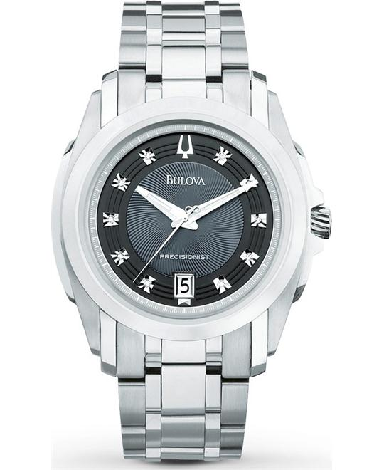 Bulova Precisionist Longwood Diamond Watch 40mm