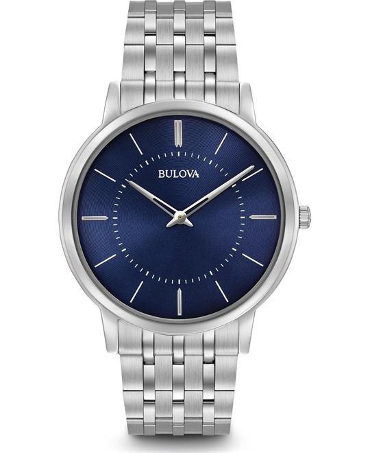 Bulova Quartz Dress Men's Watch 40mm