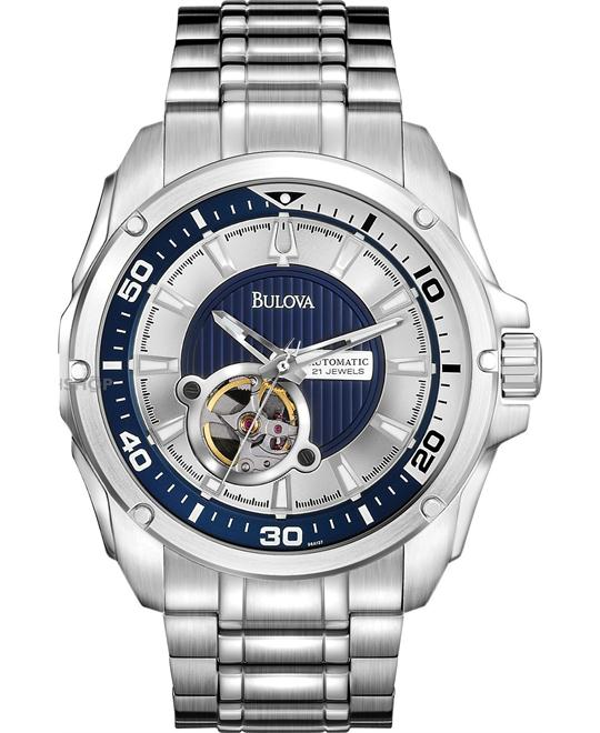 Bulova Self-Winding Mechanical Men's Watch 44mm