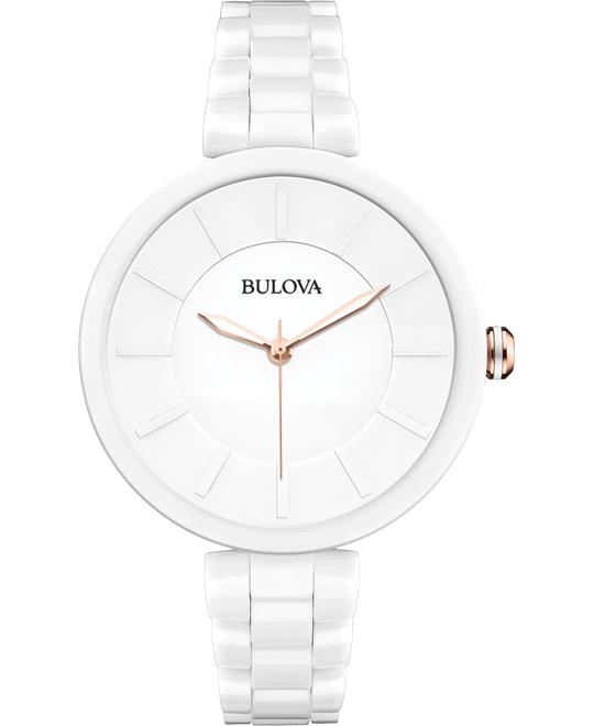 Bulova Women's Analog Japanese Watch 38mm