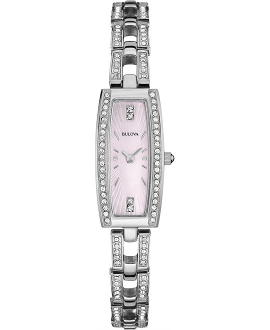 BULOVA Mother of Pearl Ladies Watch 29x13mm