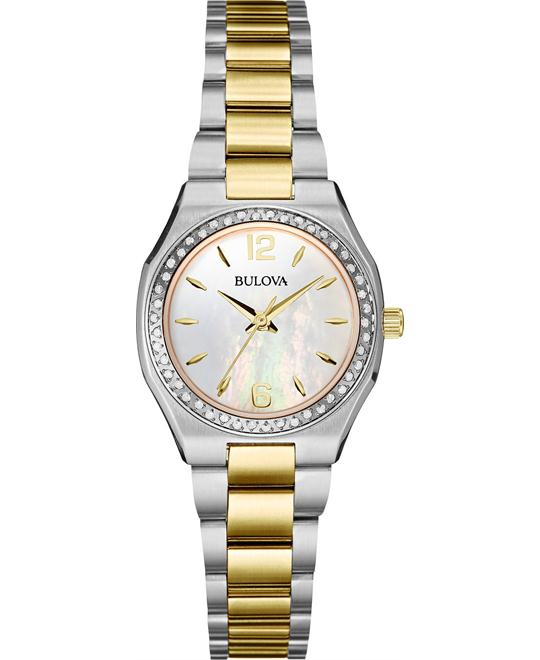 Bulova Women's Diamond (1/4 ct. t.w.) Watch 26mm