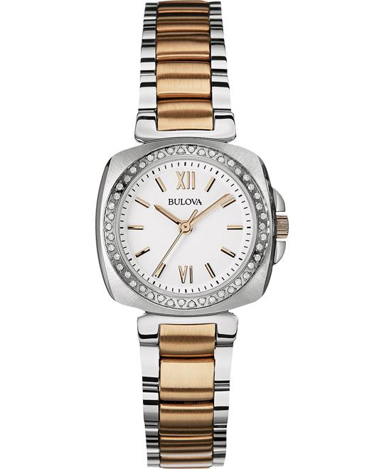 BULOVA Diamond White Ladies Watch 30mm