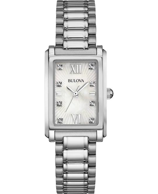 Bulova Women's Diamond Accent Watch 35x23mm