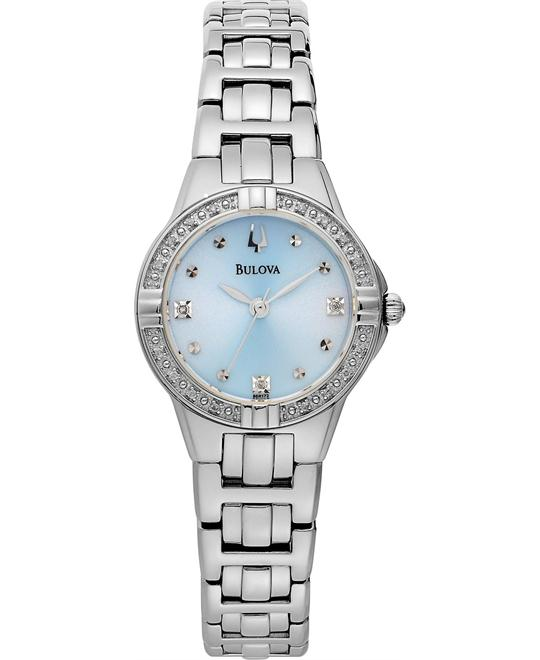 Bulova Women's Diamond Case Watch 27mm