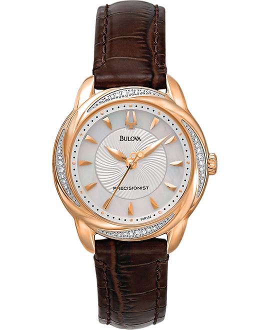 Bulova Women's Precisionist Brightwater Watch 30mm