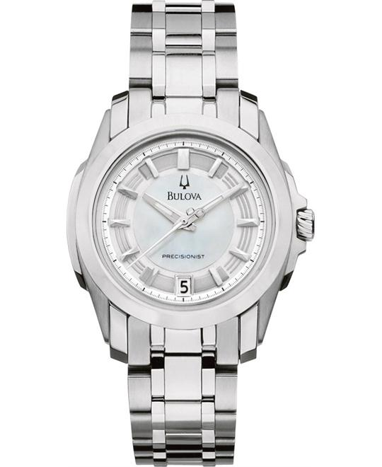 Bulova Precisionist Longwood MOP Watch 29mm