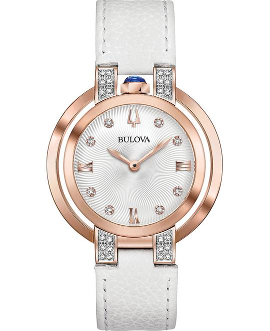 Bulova Rubaiyat Diamond Women's Watch 35mm
