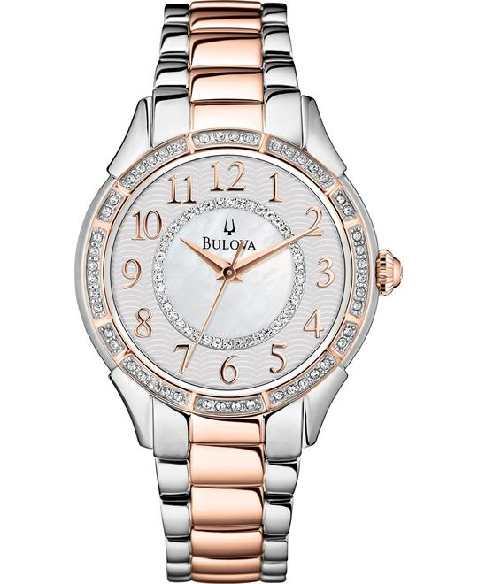 Bulova Women's Two-Tone Stainless Watch 33mm