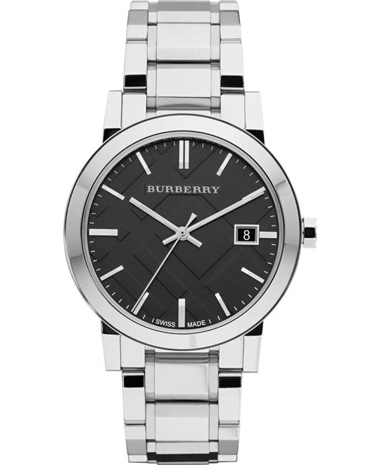 BURBERRY Black Unisex Watch 38mm