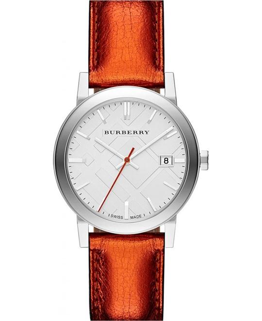 BURBERRY CITY LADIES WATCH 34mm