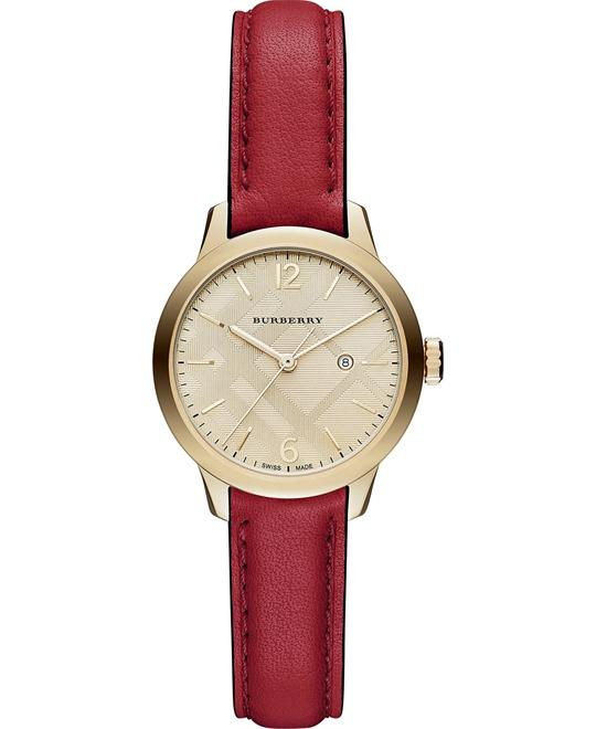 BURBERRY CLASSIC ROUND WOMEN'S WATCH 32mm