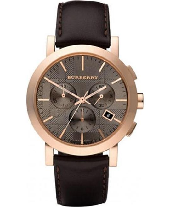 Burberry Herringbone Mens Watch 40MM