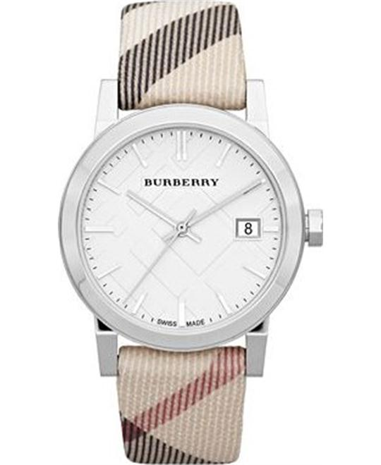Burberry Large Check Nova Check Women's Watch 34mm