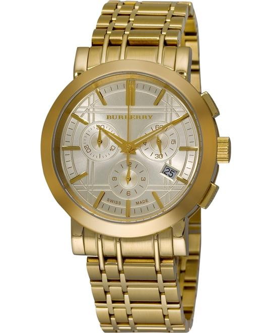 Burberry Heritage Chronograph Men's Watch 40mm