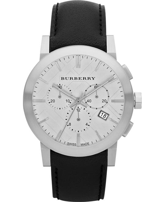 Burberry The City Men's Swiss Chronograph Watch 42mm