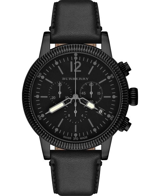 Burberry The Utilitarian Chronograph Swiss Men's Watch 42mm
