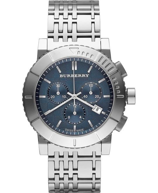 Burberry The Trend Men's Swiss Stainless Steel Watch 42mm
